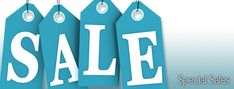 No telling what'll pop up in our Special Sales Corner so check here often for surprise offers.