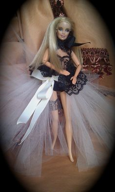 Customized Ooak Barbie Doll by nbegona on Etsy, $120.00