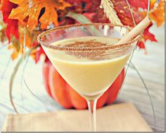 Skinny Spiced Pumpkin Martini