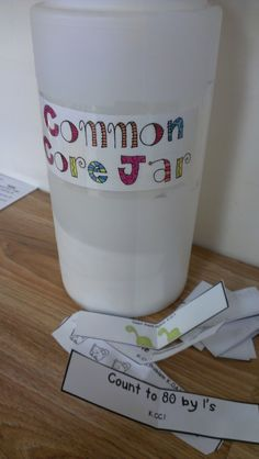 Counting video to 100  Common Core Questioning Jar - Got distracted by other great things on this site and ran out of time to look for this.  Even though this is a kindergarten site, many ideas can be used in first grade too.