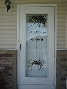 halloween decorations, glass doors, halloween door, vinyl, front doors