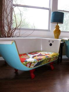 Clawfoot tub couch