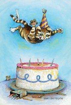 birthday cat; Gary Patterson