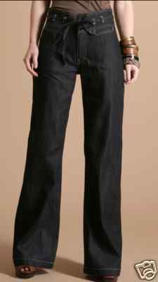 Kuyichi 'Farra' High waist organic cotton jeans RRP £95 now only £37.49 international shipping available