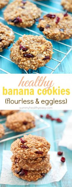 Healthy Banana Cooki