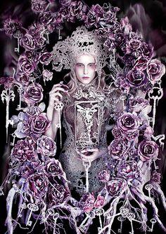 """Wonderland """"The Queen's Centurion"""" by Kirsty Mitchell, via Flickr"""