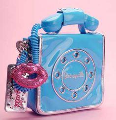 Phone handbag by Betsey Johnson