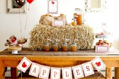 Harvest Apple Party #harvest #appleparty