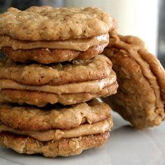 Half-way to heaven peanut butter cookies.