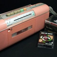 A Sharp boombox to record songs off the radio