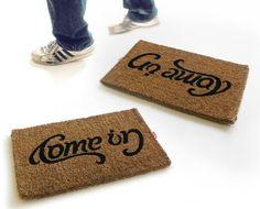 come in/go away mats