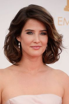 Cobie Smulders Curled Out Bob - Short Hairstyles Lookbook - StyleBistro