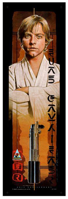 Luke Skywalker  Created by Mark Raats