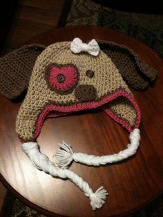 Puppy Love Crochet hats