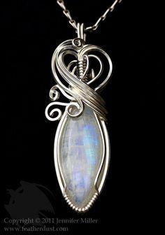 I love wire wrapped jewelery