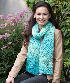 Sea Glass Scarf Free