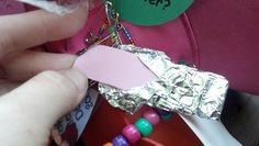 "Bubble Gum Swap using foil and craft foam ""gum.""  From the song, ""My mom gave me a penny...."""