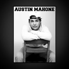 Austin Chair Jumbo Poster - White
