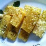 Chips di polenta ,ricetta veloce
