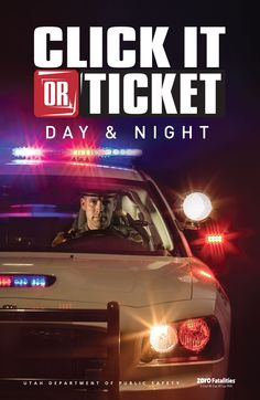 Buckle up 24/7! http://clickitutah.org