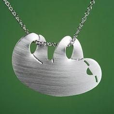 Happy Sloth Necklace.