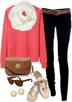 Spring fashion- good transition outfit from winter to spring