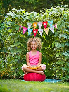 String Bean Hideaway: This vine-covered, child-sized hangout is made from garden stakes and twine and even provides its own snacks -- string beans!