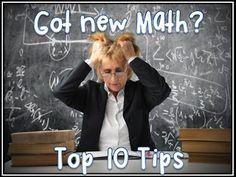 Top 10 Tips for a new math program  www.teachthemath.com