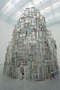 Whoa, sculpture! Chiharu Shiota