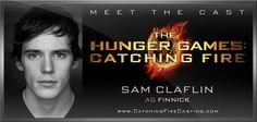 cast of the hunger games, catch fire, hunger games3, november, catching fire, movi, sam claflin, offici, finnick odair