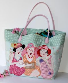 News:: Brand new Red Brolly Bag pattern...for all my sisters in stitching
