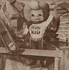 Frito Kid in Disneyland, 1955
