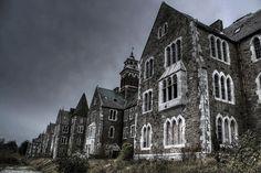 Our Lady's Hospital aka Atkins Hall. Abandoned asylum, Cork, Ireland