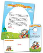 Create a personalized Easter Bunny Letter!