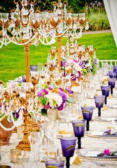 Elegant backyard fete