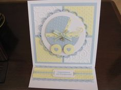 New Grandparents Baby Boy Card