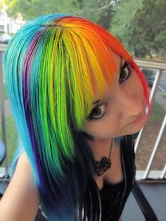 Rainbow Dash Hair
