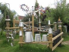 sound garden for children | Sound Garden Project