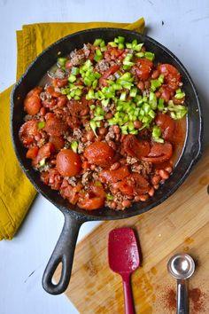 Easy Cheesy Chili Mac by maebells: 28 minutes. #Chili #Pasta #Fast #Easy