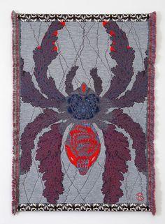 """ Kustaa Saksi. Hypnopompic. Comtemporary wool. Arachne's Web. Arbor Vitae. Herbarium of Dreams. "" :O ahh"