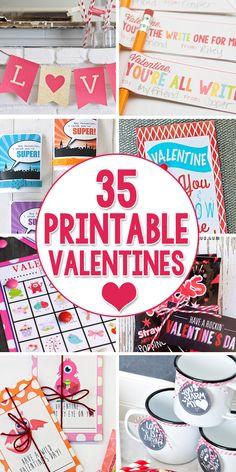 35 Printable Valenti