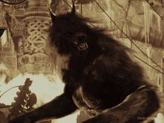 """Awesome animated werewolf .gif from """"Van Helsing"""".  Hell yeah!"""