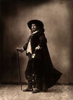 Portrait de Paul Mounet, Paris  Nadar c.1880