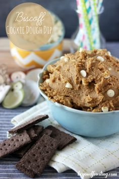 What do you get when you combine cookie butter and cookie dough?  Addiction!