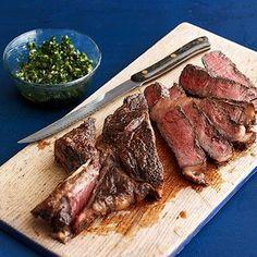 Salsa Verde Steak -- So simple, but so good!