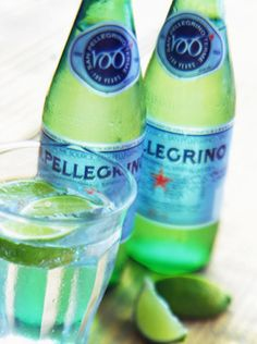 Pellegrino - if you are a H2O fiend like me... switch to this super refreshing sparkley deliciousness every once and a while! I've been going through it like a madwoman!