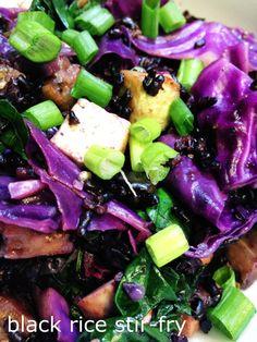 Recipe Box: Black Rice Stir-Fry