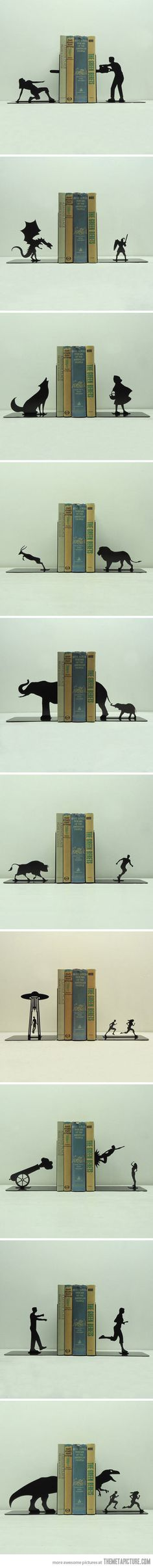 Book ends!