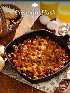 Perfect summer #recipe: Campfire Hash!