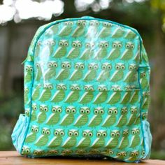 Make your child a unique and special backpack for back-to-school. Link to pattern in post.